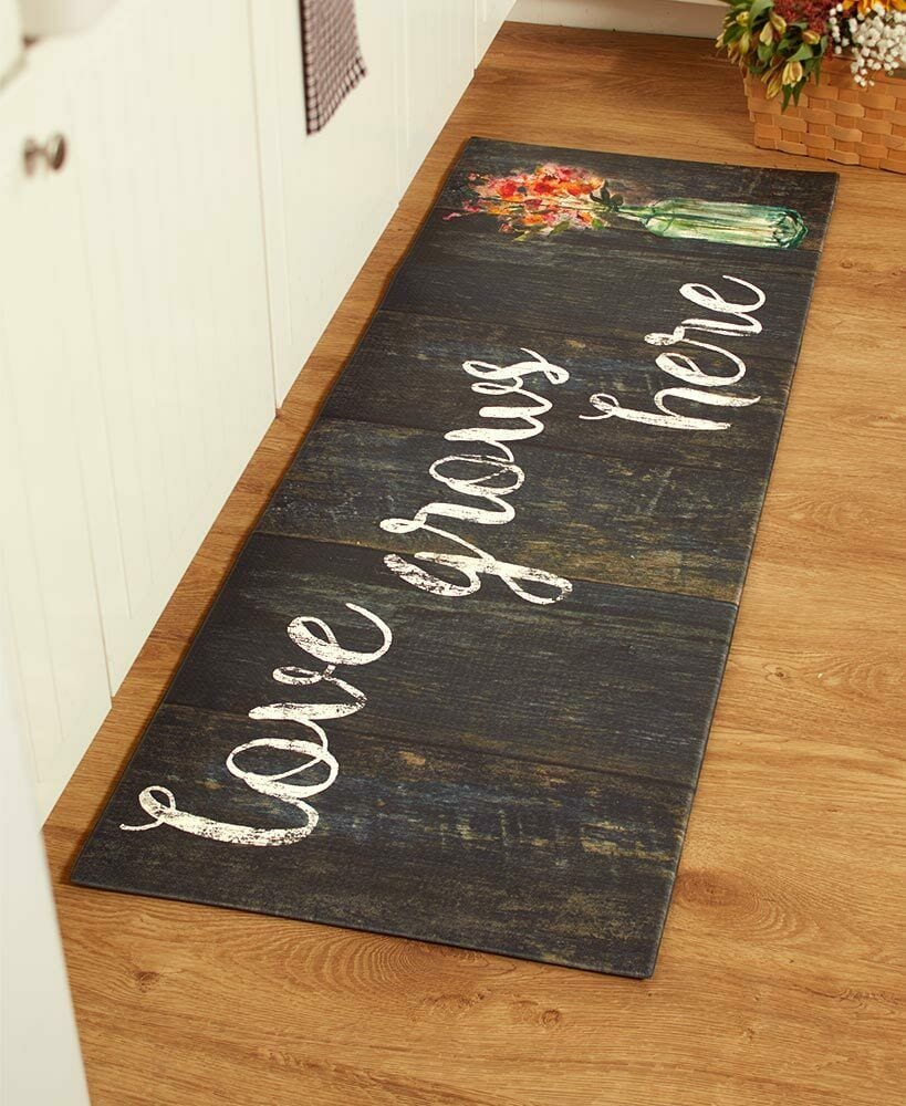 55 Quot Comfortable Cushioned Kitchen Runner Rug Mat Country