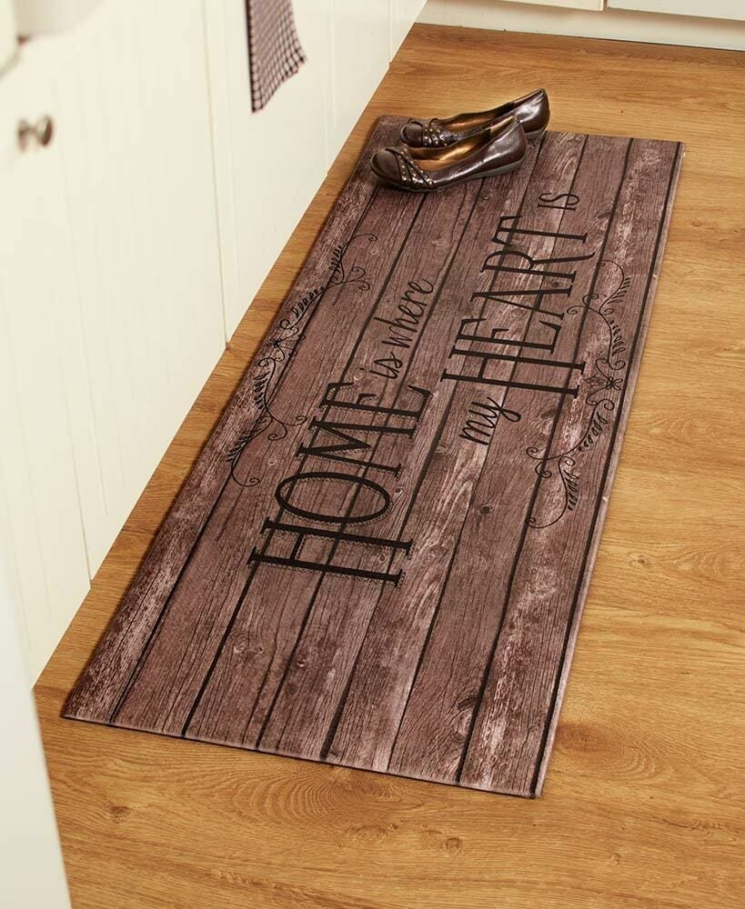 """55"""" COMFORTABLE CUSHIONED KITCHEN RUNNER RUG MAT Country ..."""