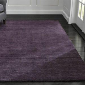 best purple area rugs