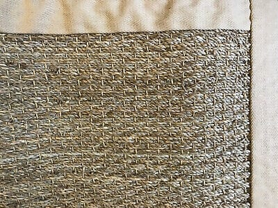 Pottery Barn Color Bound Seagrass Rug 2 X 3 Natural New