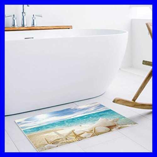 Starfish Seashell Custom Door Mat Beach Indoor Outdoo Home Rugs For Sale Area