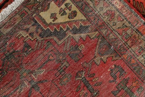 Traditional Geometric Area Rugs Hand Knotted Wool Foyer